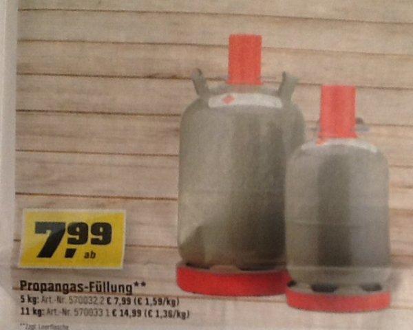 Gas Für Gasgrill Obi : Obi bundesweit propangasfüllung kg u ac kg mit