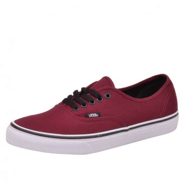 vans authentic unisex sneaker rot. Black Bedroom Furniture Sets. Home Design Ideas