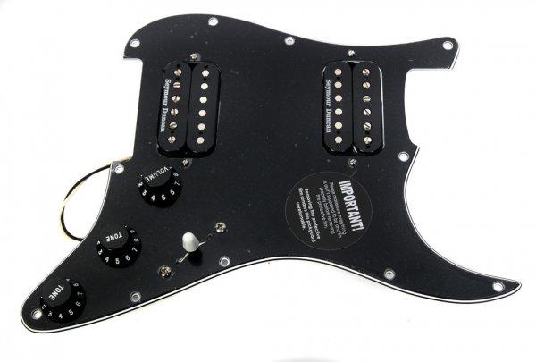 Diverse E-Gitarren-Aufrüstsets (Pickguard+Pickups fertig verdrahtet ...