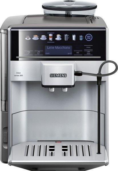 saturn national kaffeevollautomat siemens eq6 te603501de series 300. Black Bedroom Furniture Sets. Home Design Ideas
