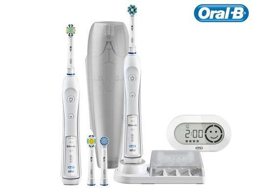 oral b smart series 6900 duo mit bluetooth ibood. Black Bedroom Furniture Sets. Home Design Ideas