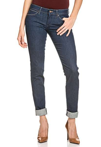 wrangler stretch jeans damen hose denim molly slim fit 50. Black Bedroom Furniture Sets. Home Design Ideas