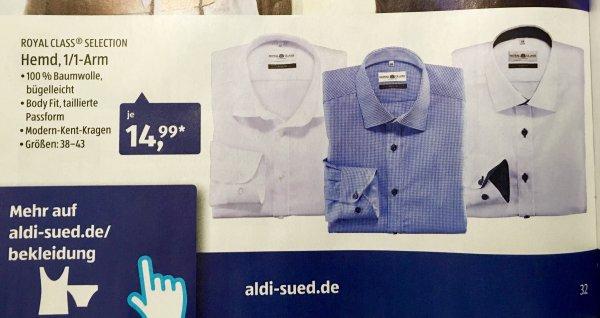 ROYAL CLASS SELECTION Hemd, 12 Arm, Regular Fit Aldi Süd