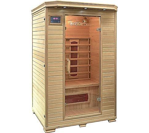 infrarot sauna kabine home deluxe m zum hammerpreis. Black Bedroom Furniture Sets. Home Design Ideas