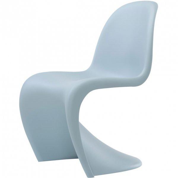 vitra panton chair eisgrau 160 01. Black Bedroom Furniture Sets. Home Design Ideas