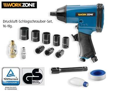 aldi s d workzone druckluft schlagschrauber set. Black Bedroom Furniture Sets. Home Design Ideas