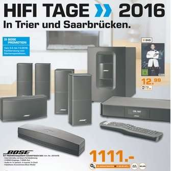 bose 5 1 heimkinosystem soundtouch 520 f r 1111 pvg ca. Black Bedroom Furniture Sets. Home Design Ideas