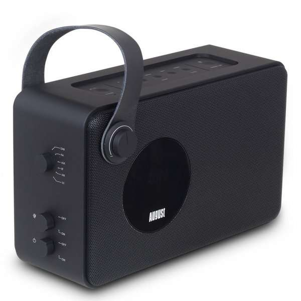 amazom august mb415 dab radio portabel mit nfc. Black Bedroom Furniture Sets. Home Design Ideas