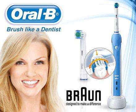 oral b professional care 1000 dailydeal. Black Bedroom Furniture Sets. Home Design Ideas