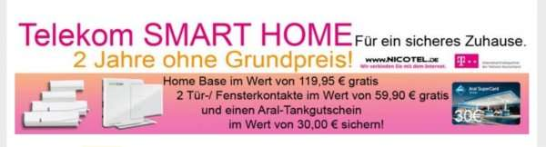 telekom smart home effektiv kostenlos plus 30 euro tankgutschein. Black Bedroom Furniture Sets. Home Design Ideas