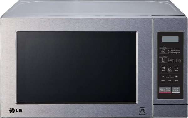 ebay lg ms2044v edelstahl mikrowelle 700 watt 20. Black Bedroom Furniture Sets. Home Design Ideas