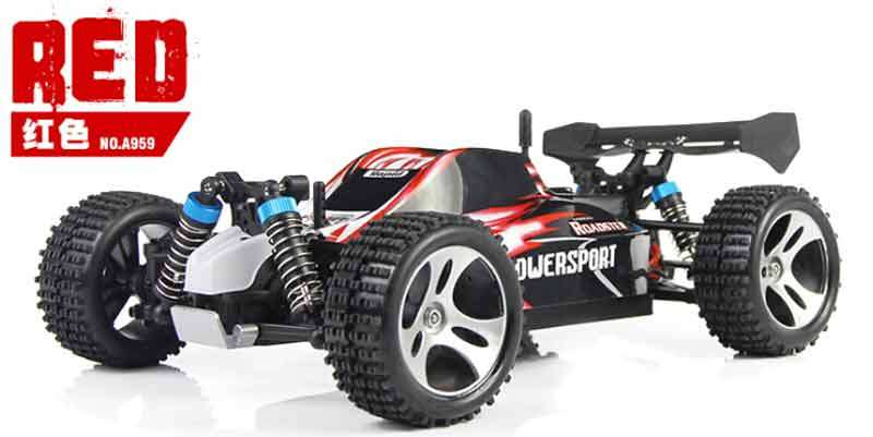ferngesteuertes auto off road buggy wltoys a959 1 18 rc. Black Bedroom Furniture Sets. Home Design Ideas