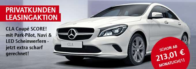mercedes cla coupe privat leasing 213. Black Bedroom Furniture Sets. Home Design Ideas