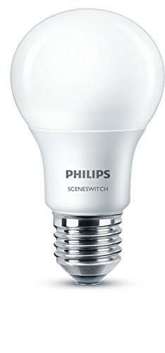 amazon prime dimmen ohne dimmer philips 3 in 1 e27 led lampe sceneswitch ersetzt 60w ra80. Black Bedroom Furniture Sets. Home Design Ideas