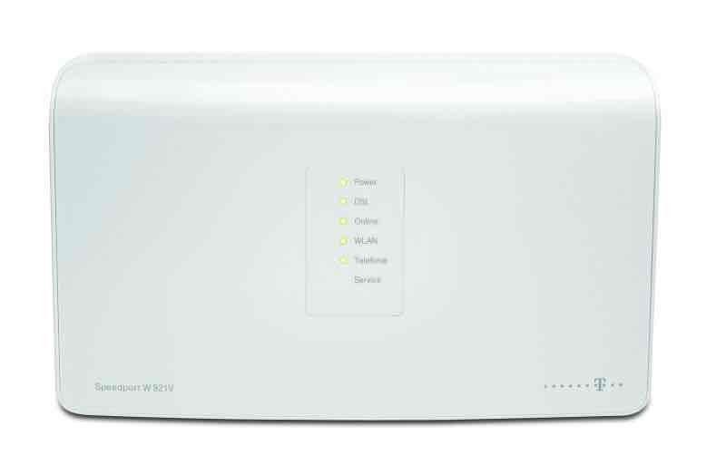 telekom speedport w921v wireless router dsl modem 4 port. Black Bedroom Furniture Sets. Home Design Ideas