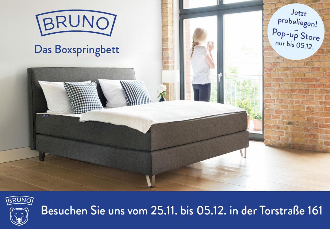 gratis in berlin mitte im pop up store schaufenster bernachten inklusive fr hst ck und. Black Bedroom Furniture Sets. Home Design Ideas