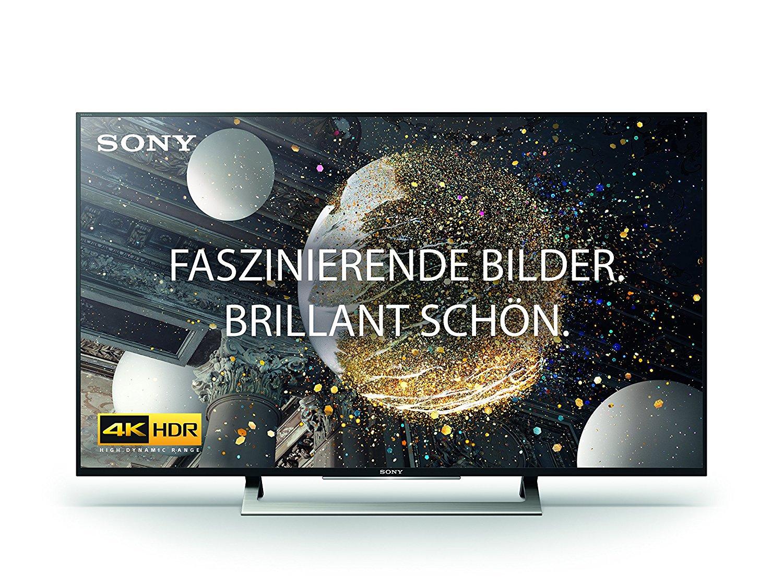 sony kd 49xd8005 49 tv mit 4k hdr uhd smart tv ebay. Black Bedroom Furniture Sets. Home Design Ideas