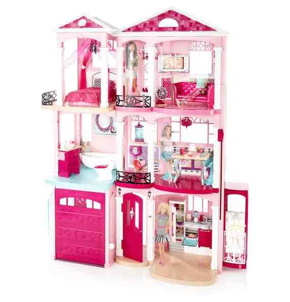 black friday barbie traumvilla 99 98 statt 199 98. Black Bedroom Furniture Sets. Home Design Ideas