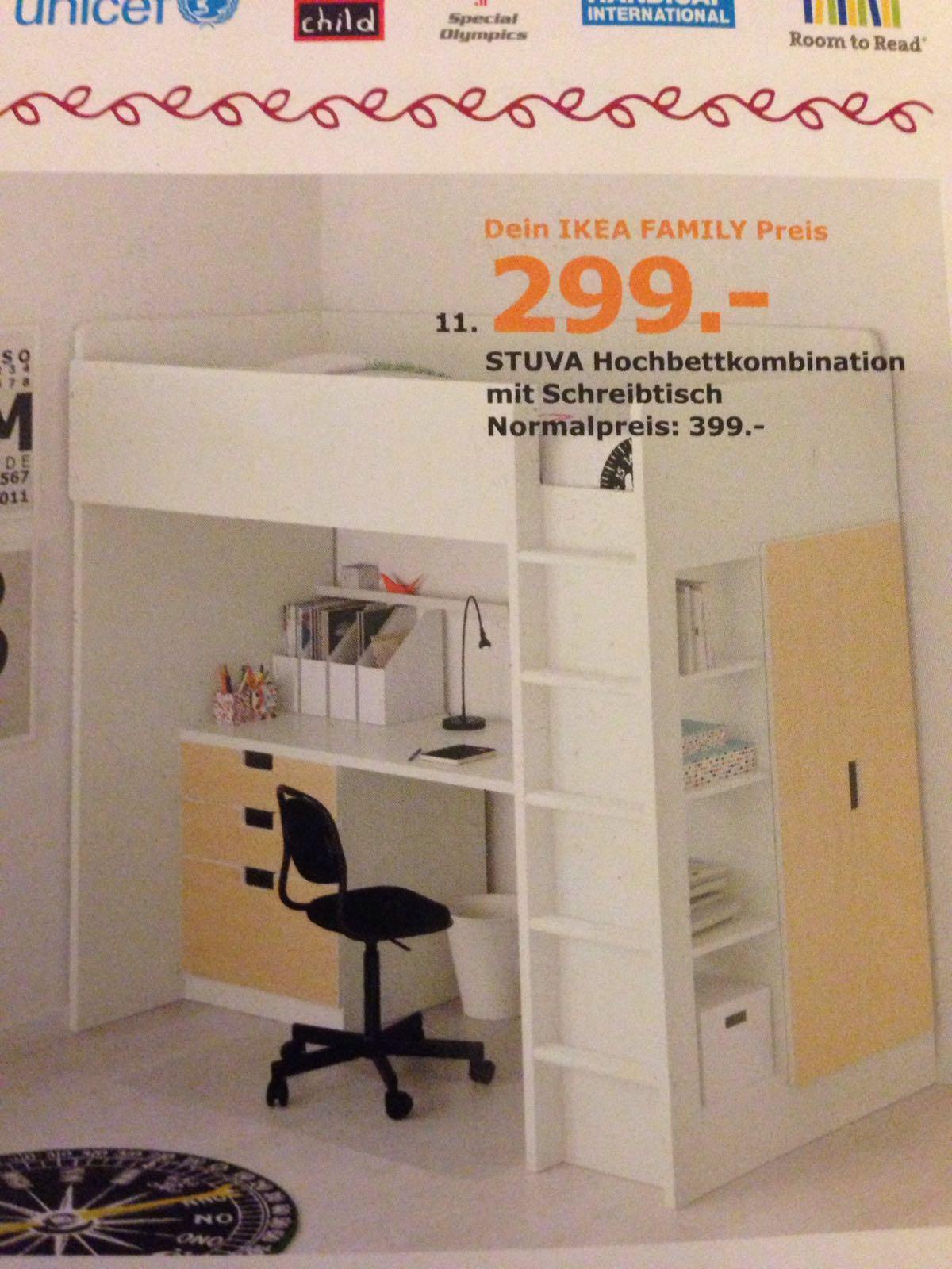 ikea stuva hochbett mit schreibtisch schubladen schrank. Black Bedroom Furniture Sets. Home Design Ideas