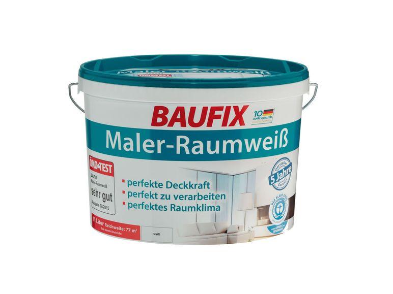 Baufix Maler Raumweiss 11L Online Offline