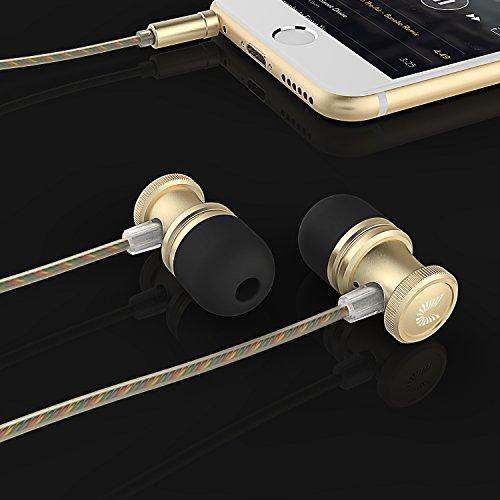 amazon stereo bass in ear kopfh rer mit mikrofon. Black Bedroom Furniture Sets. Home Design Ideas