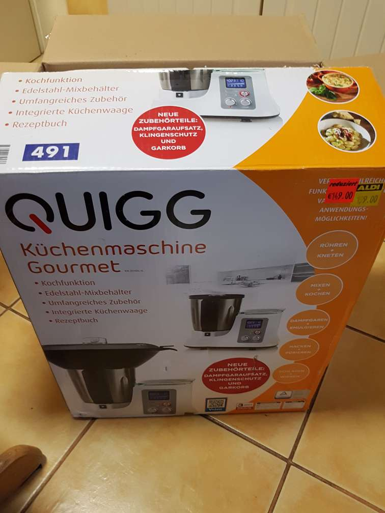 aldi nord hemer quigg gourmet k chenmaschine thermomix clon. Black Bedroom Furniture Sets. Home Design Ideas