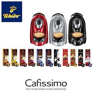 tchibo cafissimo compact 110 kapseln kaffeemaschine kapselmaschine neu f r 39 inkl vsk ebay. Black Bedroom Furniture Sets. Home Design Ideas