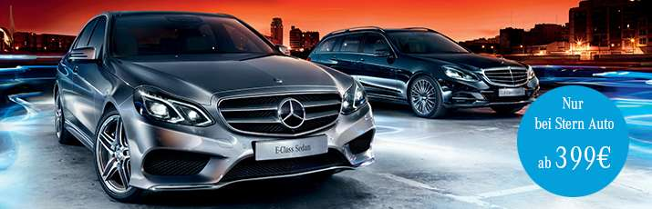 mercedes benz e klasse kurzzeit leasing 12 monate 20 tkm. Black Bedroom Furniture Sets. Home Design Ideas