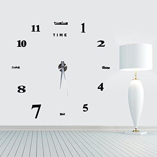 diy wanduhr im au ergew hnlichen design. Black Bedroom Furniture Sets. Home Design Ideas