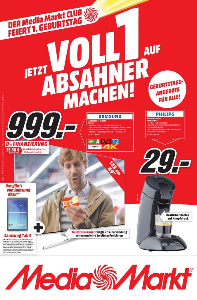 lokal media markt berlin umgebung samsung ue49ks8090 suhd tv samsung galaxy tab e f r 999. Black Bedroom Furniture Sets. Home Design Ideas