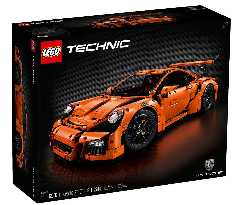 lego technic porsche 42056 911 gt3 rs f r 199 98 bei toysrus. Black Bedroom Furniture Sets. Home Design Ideas