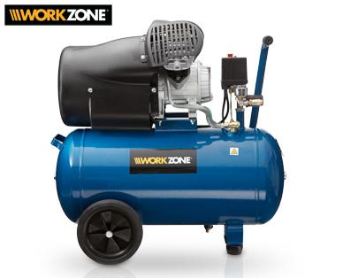 Etwas Neues genug Aldi Süd - WORKZONE® 50 L-Kompressor ; 2,2 kW ; 8 bar #EC_74
