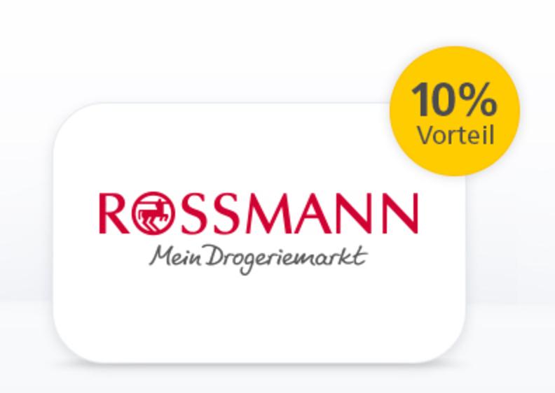 postbank kunden rossmann gutscheine mit 10 preisvorteil kaufen. Black Bedroom Furniture Sets. Home Design Ideas