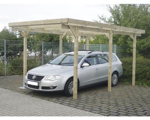 Hornbach carport aus holz inkl pvc dacheindeckung 3 00 for Hornbach carports