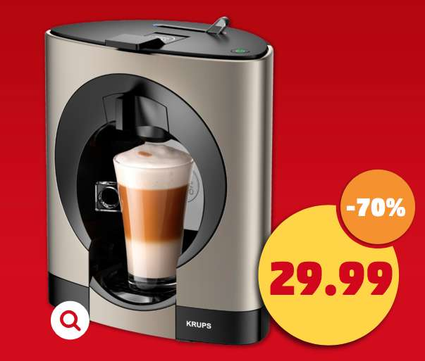 krups dolce gusto nescaf oblo titanium exklusiv kp110t f r 29 99 penny. Black Bedroom Furniture Sets. Home Design Ideas