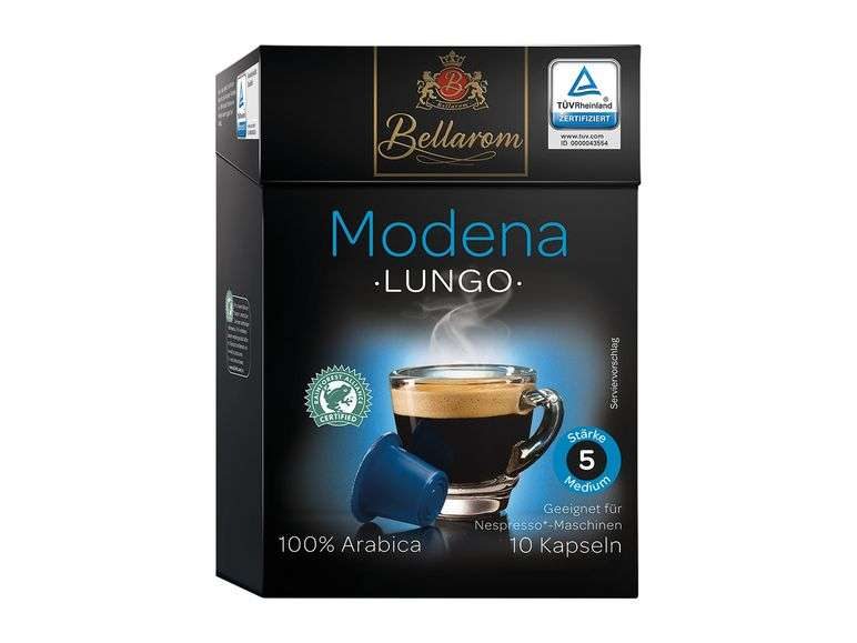 [Lidl] BELLAROM Kaffeekapseln für Nespresso Maschinen 1,39 ...