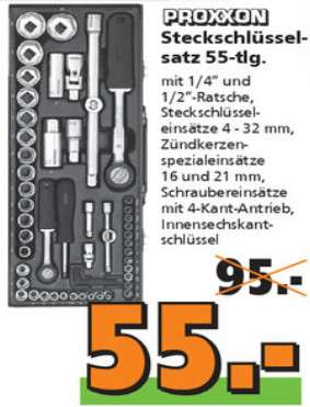 globus baumarkt on offline proxxon steckschl sselsatz 23040 1 2 1 4 56 tlg f r 55 kw15. Black Bedroom Furniture Sets. Home Design Ideas
