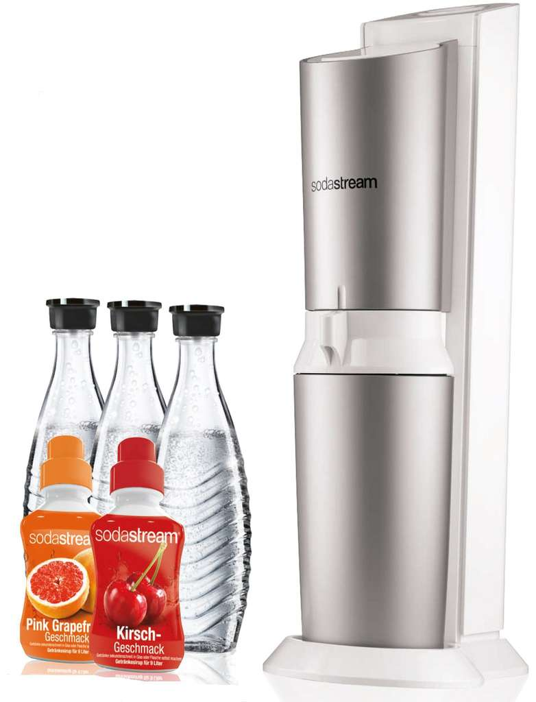 sodastream crystal design super spar pack wassersprudler f r 79 99 inkl versand statt 105. Black Bedroom Furniture Sets. Home Design Ideas