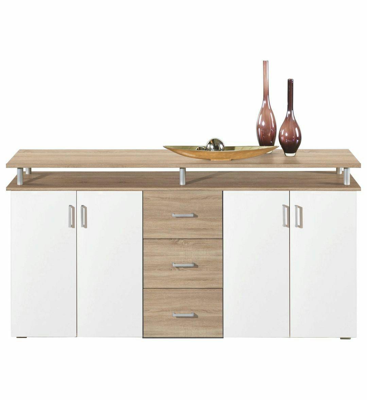 sideboard sanoma eiche inkl vsk abholung. Black Bedroom Furniture Sets. Home Design Ideas