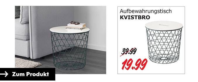 kvistbro aufbewahrungstisch dienstagsangebot f r 2 mai bei ikea kaiserslautern. Black Bedroom Furniture Sets. Home Design Ideas