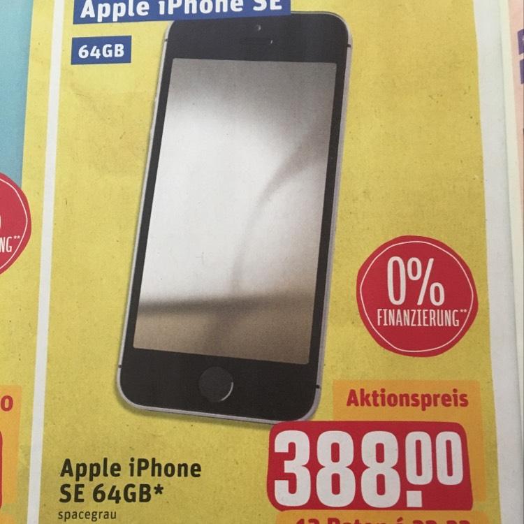 apple iphone se 64 gb spacegrau lokal rewe center dein. Black Bedroom Furniture Sets. Home Design Ideas