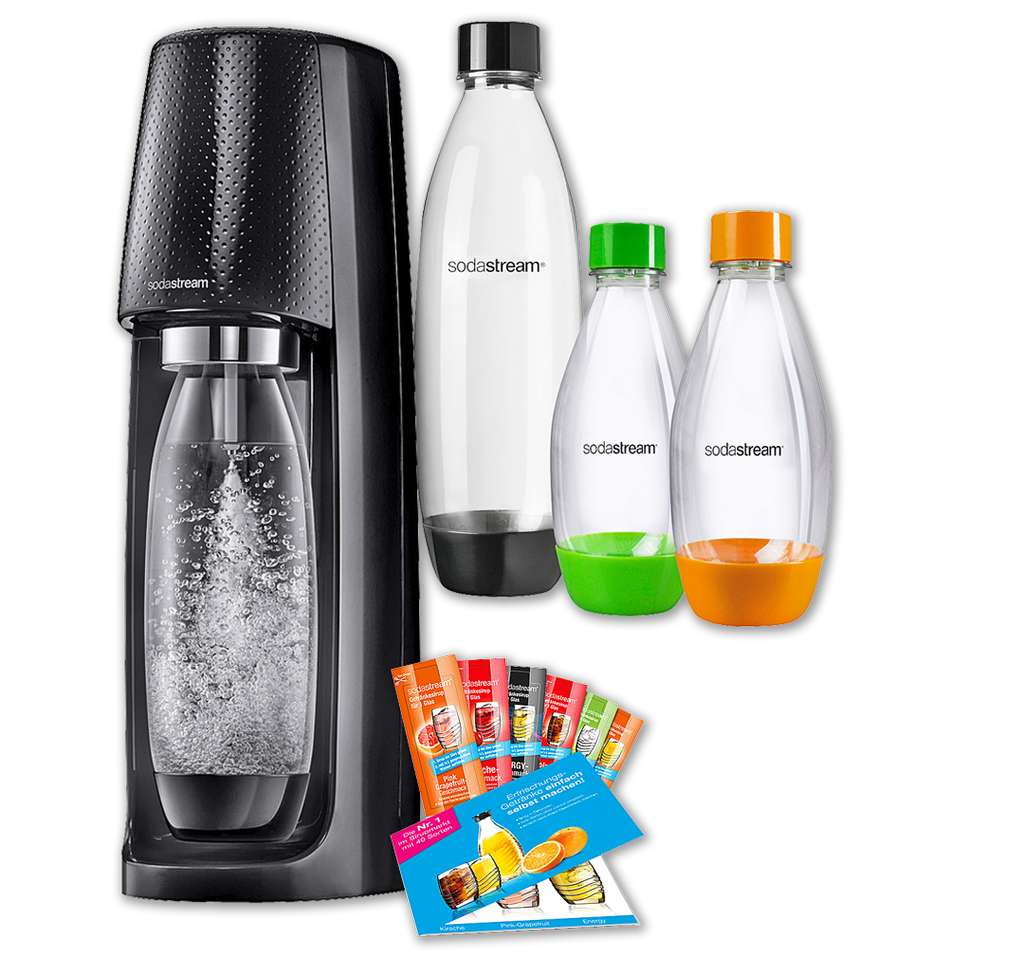 penny sodastream trinkwassersprudler easy pack f r 59 99. Black Bedroom Furniture Sets. Home Design Ideas
