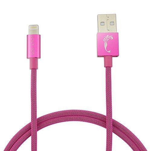 apple mfi zertifiziert joly joy 1m apple lightning kabel pink. Black Bedroom Furniture Sets. Home Design Ideas