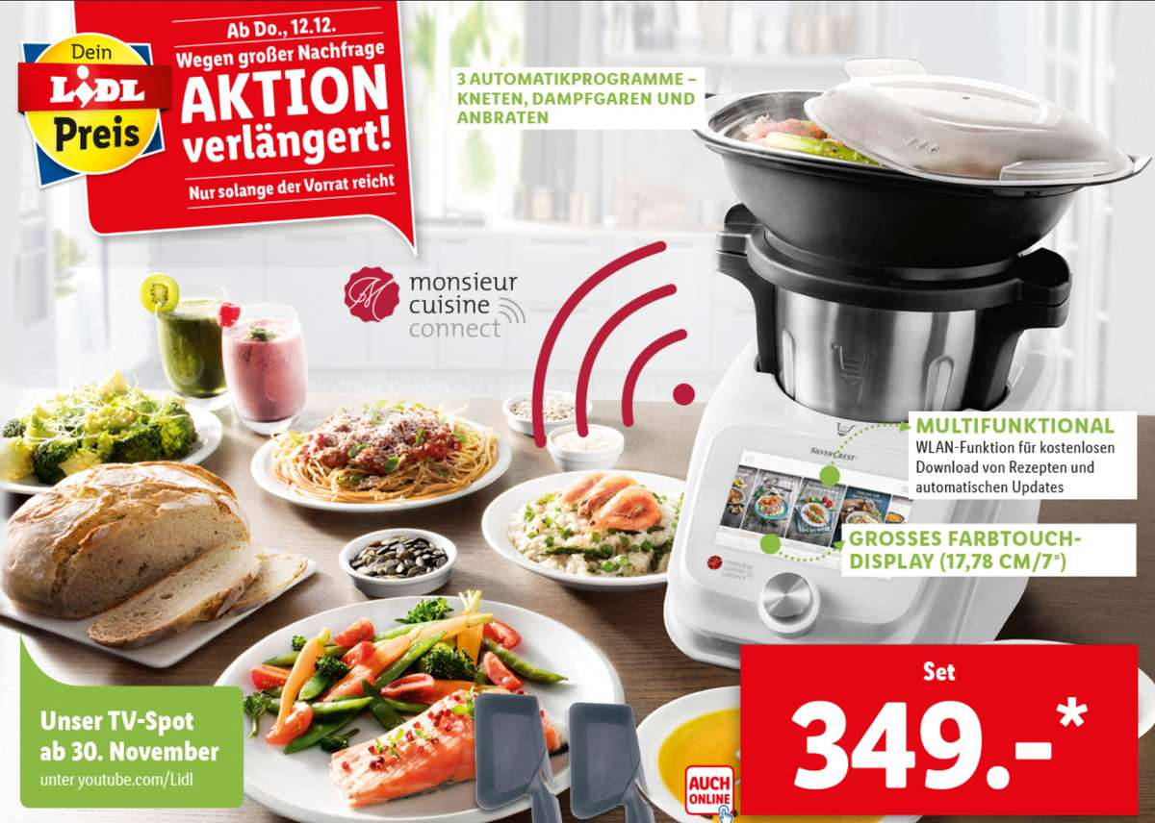 Thermomix Alternative Monsieur Cuisine Connect Kuchenmaschine Ab