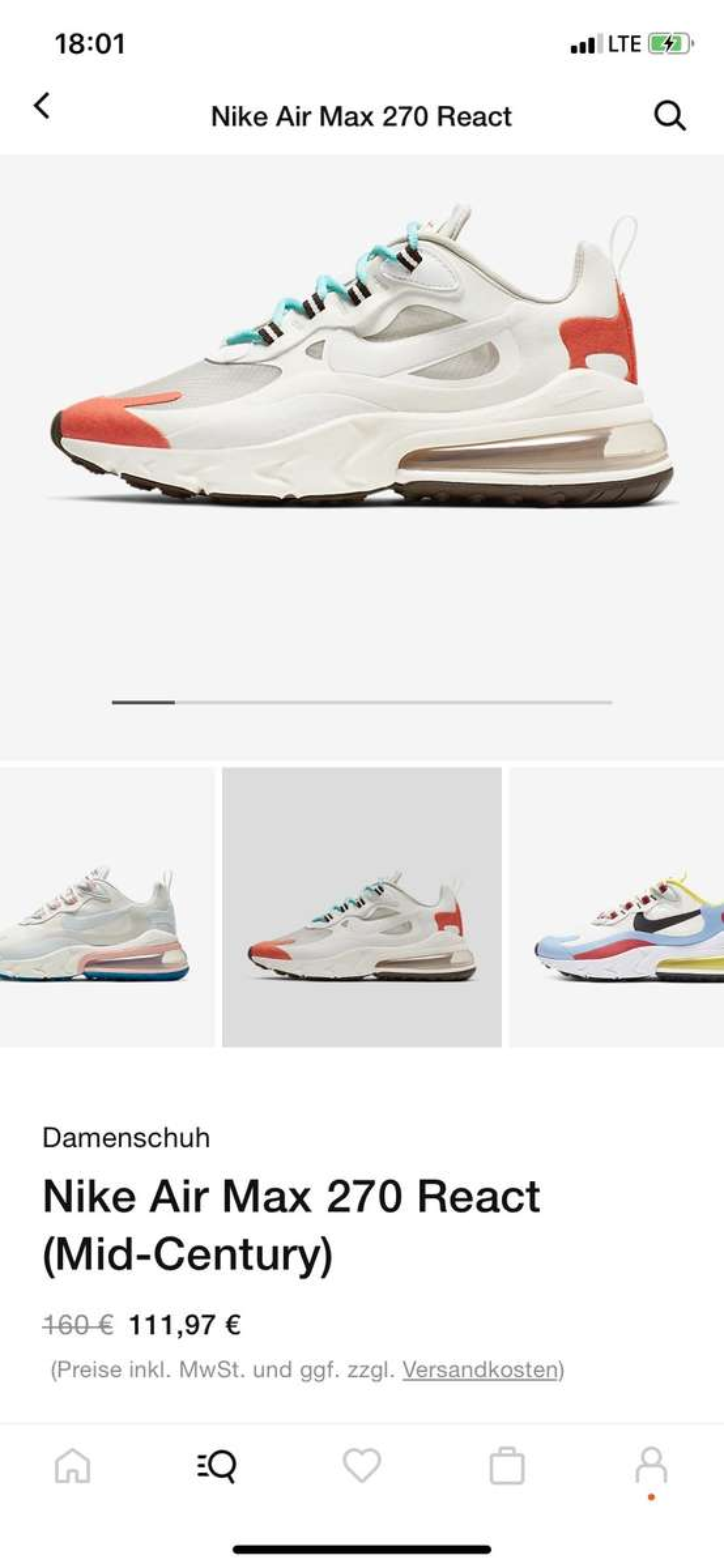 React 270 Nike Nike Air Max qVpSMzU