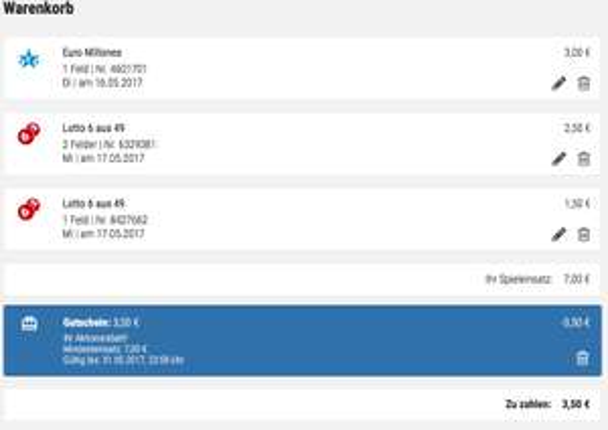 Tipp24 3,50€ Rabattcode für Bestandskunden 7€ Mbw