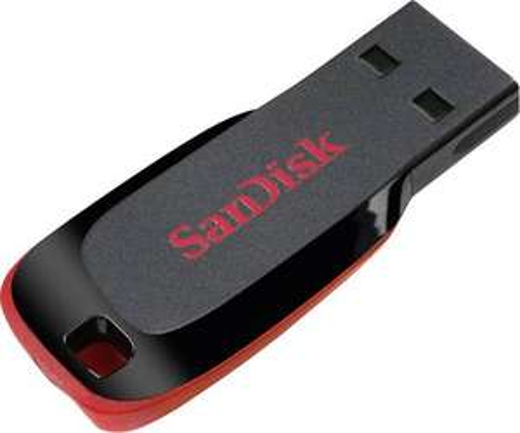 [Conrad] SanDisk® USB-Stick Cruzer® Blade™ 128 GB Schwarz USB 2.0 für 22 €