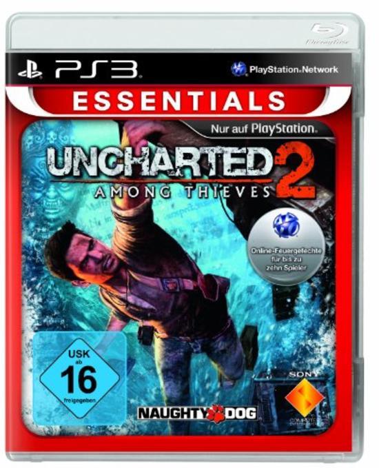 Uncharted 2 : Among Thieves (Essentials) (GameStop online) NEU