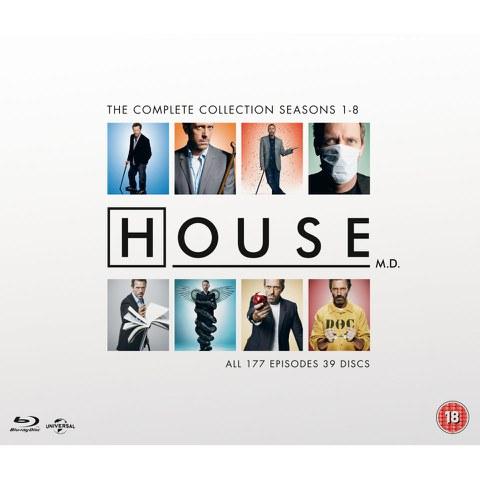 Dr. House - die komplette Serie auf Blu-Ray