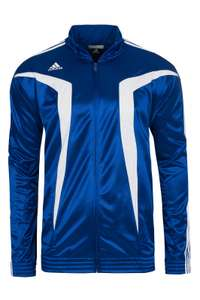 (Megagrößendeal) adidas Euro Club Herren Basketball Trainingsjacke oder Trainingshose in Blau für je 4,99 € @ outlet46.de